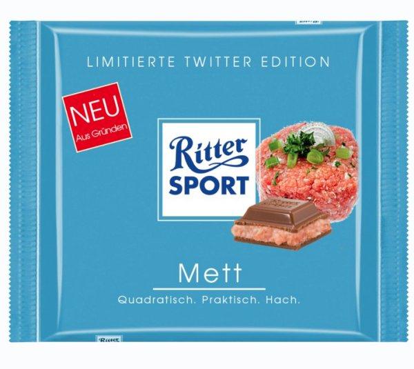 [Lokal Hamburg, Bundesweit?] Ritter Sport 2 x 100g für 1€ @REWE