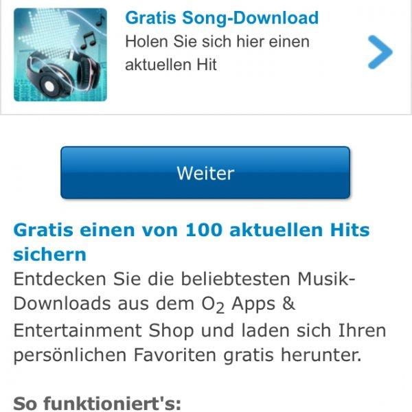 [o2-Kunden] Ab morgen 10 Uhr ein gratis Musikdownload