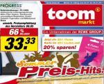 TOOM Chemnitz - iTunes Karte (Wert 25€) für 20€; Melitta Cappu 1,99€; Krüger Cappu 2,22€