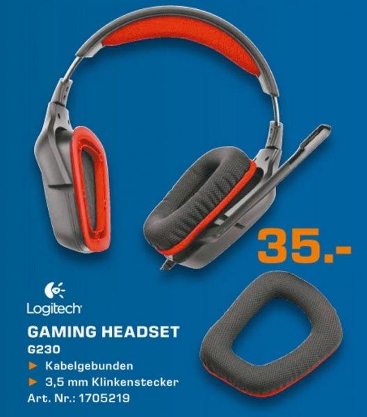 Logitech G230 Gaming Headset  für 35€ 08.03.14 Tagesangebot Lokal [Saturn Neuss]