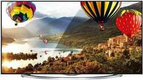 Hisense LTDN65XT880 163 cm (65 Zoll) 3D LED-Backlight-Fernseher, EEK A (Ultra HD, 600Hz SMR, DVB-T/C/S2, CI+, Smart TV, HbbTV, WLAN) silber/schwarz