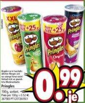 Pringles lokal bei Segmüller 0,99€