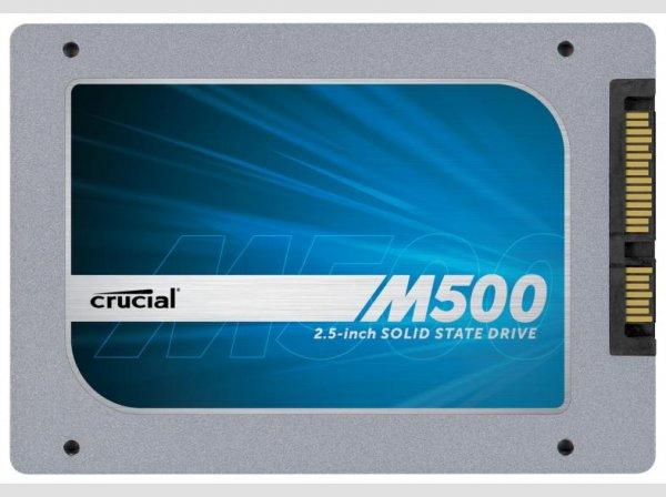 Crucial M500 2.5 480GB SSD für 188€ bei MeinPaket incl.Versand
