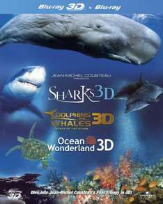 Jean-Michel Cousteau's Film Trilogy in 3D(Blu-ray) für ~19,87€ inkl. Versand @zavvi