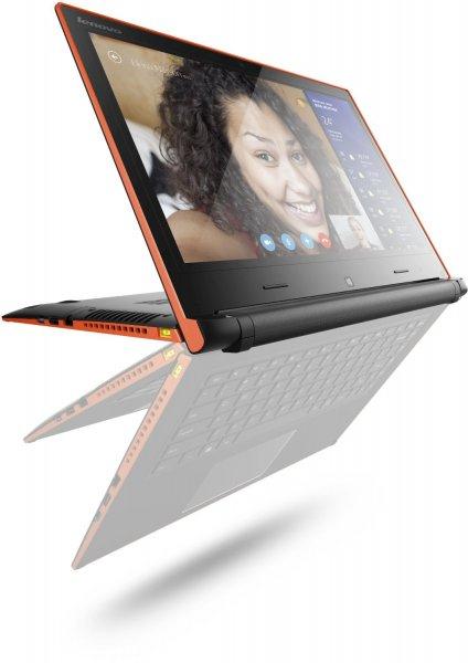 Lenovo IdeaPad FLEX14  (14 Zoll, Intel Core i3 4010U, 1,7GHz, 4GB RAM, Hybrid 500G 5400RPM SSHD(8G), Win 8)  für 499 EUR
