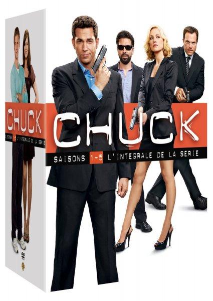 Chuck - Die komplette Serie [23 DVDs] für 42,69€ @Amazon.fr