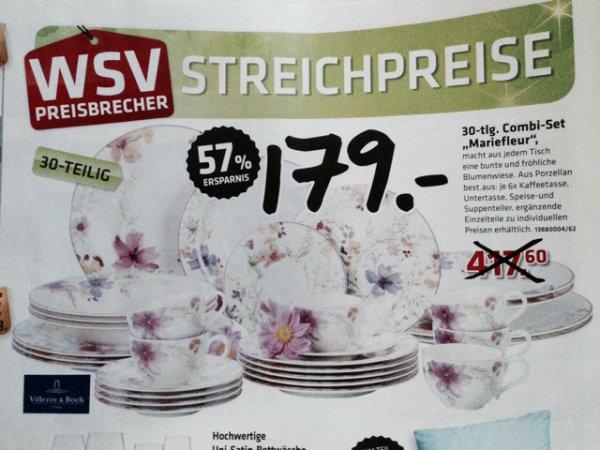 Lokal Moosburg: Villeroy & Boch Mariefleur Service30 tlg. 179€
