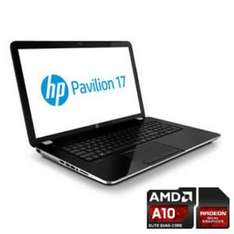"HP 17-e026eg 17,3"", AMD A10-5750 + 8670M, 8GB DDR3L, 1600x900 glare, 500GB"