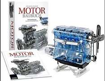 Das große Motor Baubuch mit Motorbausatz  für 49,99 €