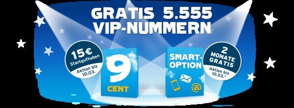 blau.de vergibt 5.555 VIP-Handynummern ohne Aufpreis!