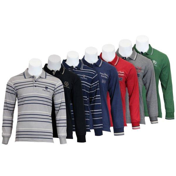 Pierre Cardin Herren Langarm Poloshirts - verschiedene Farben und Größen [@ebay.de - WOW des Tages]