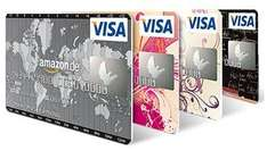 Amazon.de VISA Karte 40€ Startguthaben statt 30€