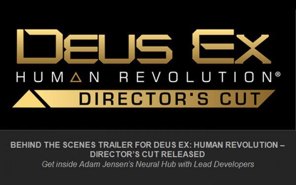 [UK] Deus Ex HR Director's Cut mit dt. Tonspur PS3/X360 10,....€
