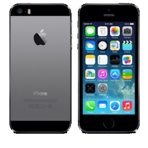 Saturn online - iPhone 5s 32GB spacegrau, mit Lieferkosten 725,-€