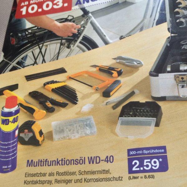 (Offline) WD-40 300ml ab 10.03. bei ALDI Nord