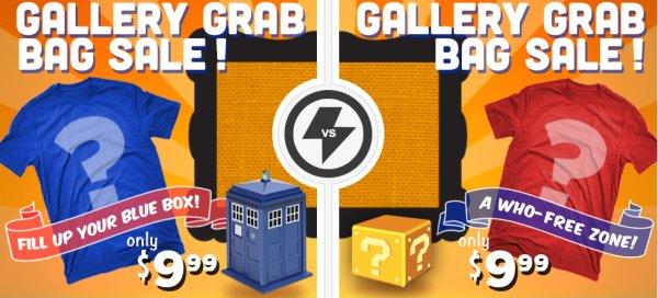 Doctor Who - Grab Bag Sale - viele mögliche Designs