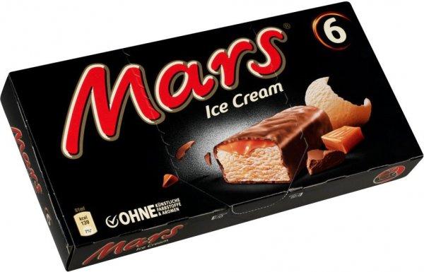 Kaufland (z.B. Hannover): Ice-Cream Snickers, Mars oder Bounty, je 6 er-Packung nur 1,99 Euro