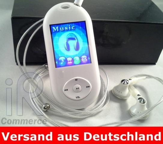 """MP3 MP4 Player 1GB Video und Musik Player FM Radio eBook Spiele 1,8"""" TFT Display"""