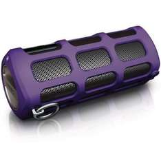 Philips SB7260/12 Shoqbox Tragbarer Bluetooth-Lautsprecher in violett @ eBay