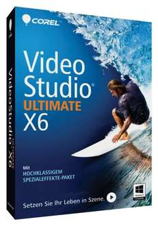 [Amazon] Corel VideoStudio X6 Ultimate - 45€ statt 59€