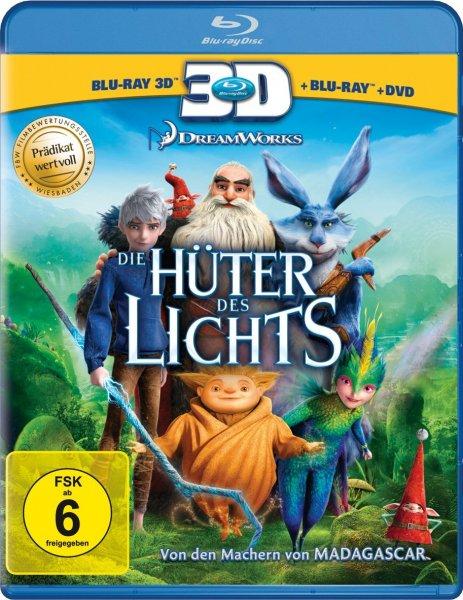 Die Hüter des Lichts (Blu Ray 3D + Blu Ray + DVD) (@Amazon.de) (mit Prime 18,97)