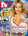 TV14 für 12 (mit Bankeinzug 14) Monate dank 25 € Gutschein für einen Euro