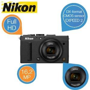 [@Ibood] Nikon COOLPIX A - schwarz (UVP 1099 €) -  für 555,90 € statt 649,- €