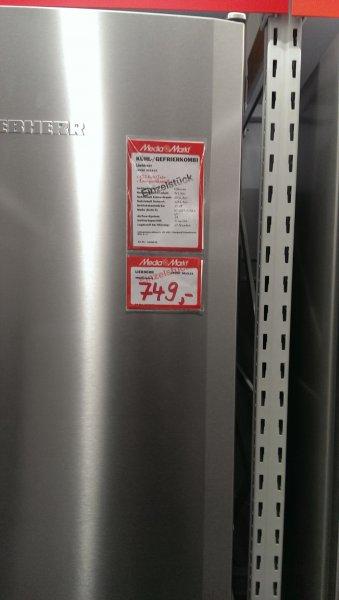 Liebherr CPESF 3813-21, Kühl/Gefrierkombi, Media Markt Düsseldorf ( bei Metro ) , 749, -, für 19,-€ liefern die bis an die erste Haustür€