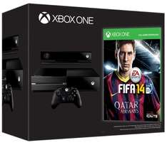 Xbox One Day One Edition + Fifa 14 @ Amazon UK WHD