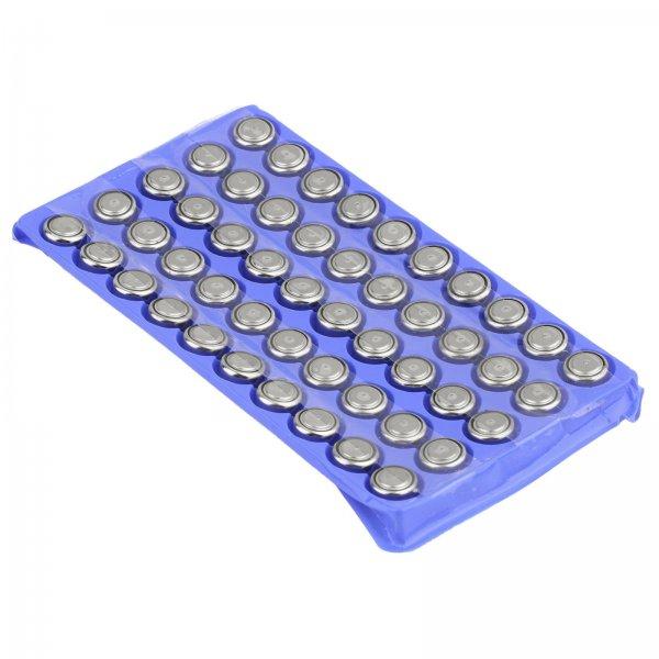 50x AG13 LR44 etc. Knopfzellen für 1,79 € aus China (Ebay)