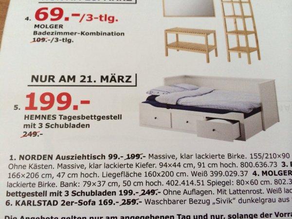 """[LOKAL Lübeck] IKEA 17.03.-22.03.2014 """"Eröffnungsangebote"""" nach den Eröffnungsangeboten ab 0,01€"""