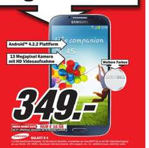 [Lokal MM Paderborn] Samsung Galaxy S4