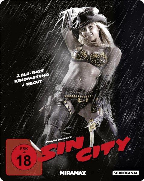 [Blu-ray] Kill Bill 1+2 Steelbook & Sin City Steelbook je 11,99€ (ab 17€ VK-frei) @ Alphamovies.de