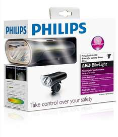 Philips SafeRide LED Fahrradlicht 80 Lux Akku @ Amazon Marketplace - 50% off