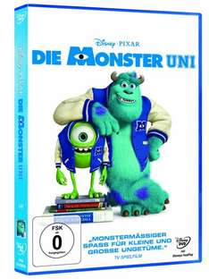 [Media Markt online/offline] Die Monster Uni [DVD]