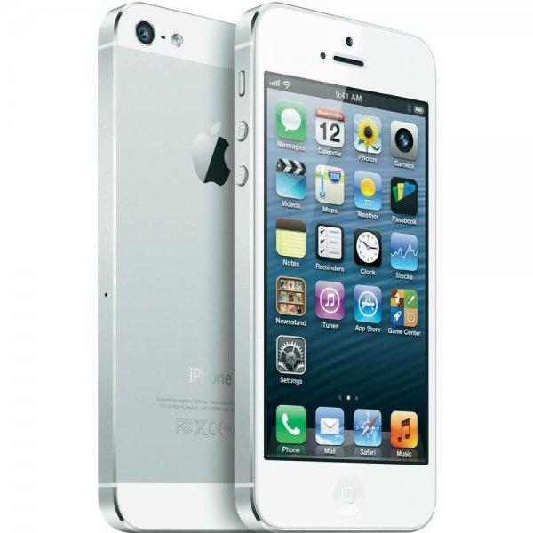Apple iPhone 5 32 GB Weiß & Silber für 421,39€ inkl. Versand bei Conrad