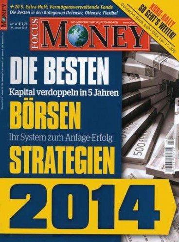 Focus Money 5x für effektiv 2,25 € durch Tankgutschein