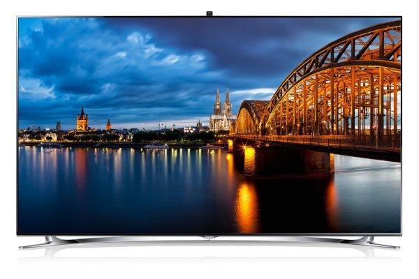 Samsung UE55F8090 139cm 3D-LED-TV (EU-Modell UE55F8000) für 1699 EUR inkl. VSK