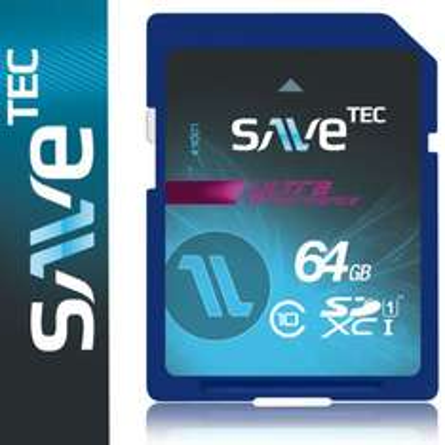 64 GB SaveTec SDXC # Class10 / UHS-1  @ eBay 22,49€, (21,50€ möglich)