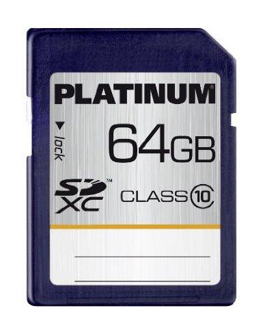 Amazon:Platinum 64 GB Class 10 SDXC Speicherkarte=21,99Euro