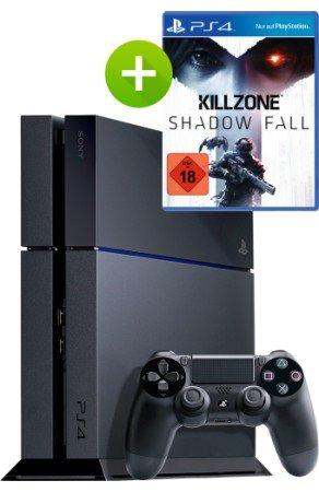 Sony Playstation 4 inkl. Killzone Shadow Fall für 481€ @Getmobile