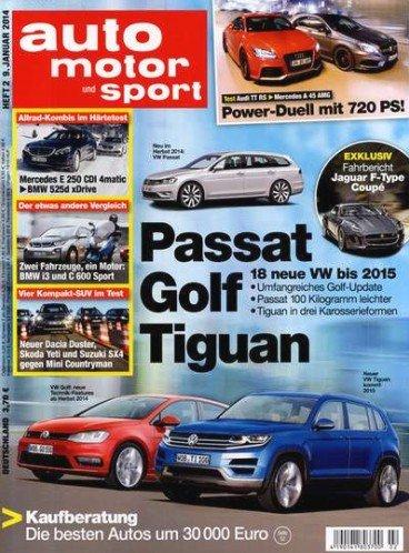 Auto Motor und Sport für effektiv 27,70 €