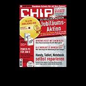 Jahresabo CHIP mit DVD für 1500 Webmiles