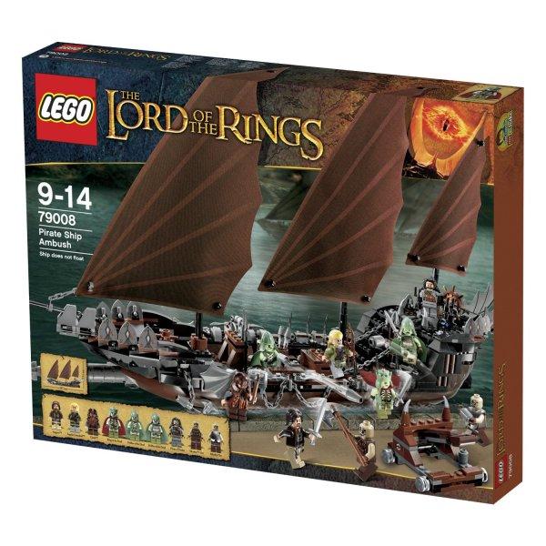 [Amazon.de] Lego Herr der Ringe 79008 - Hinterhalt auf dem Piratenschiff für 69,00€