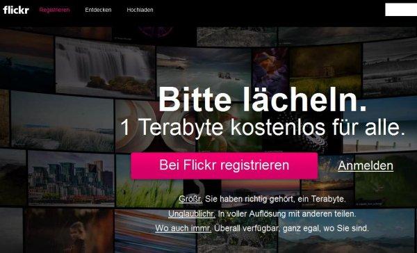 FLICKR - 1 Terabyte kostenlos für alle Fotografen unter uns