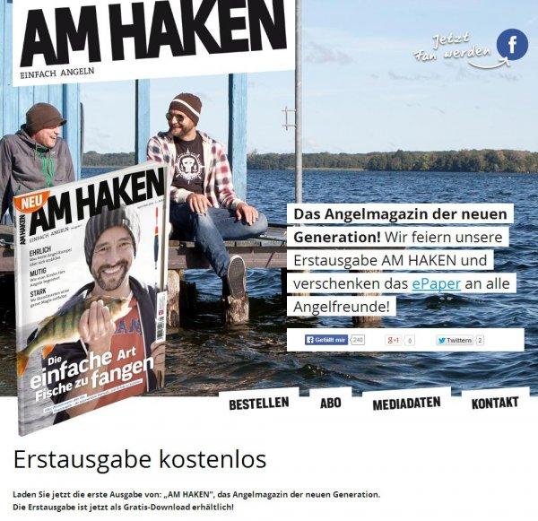 Am Haken ePaper Magazin kostenlos - Statt 4,49 Euro