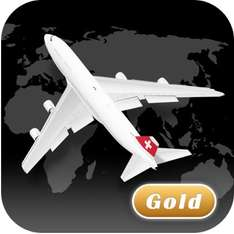 [iOS] World Flight Pro (tracken von Flügen etc.)