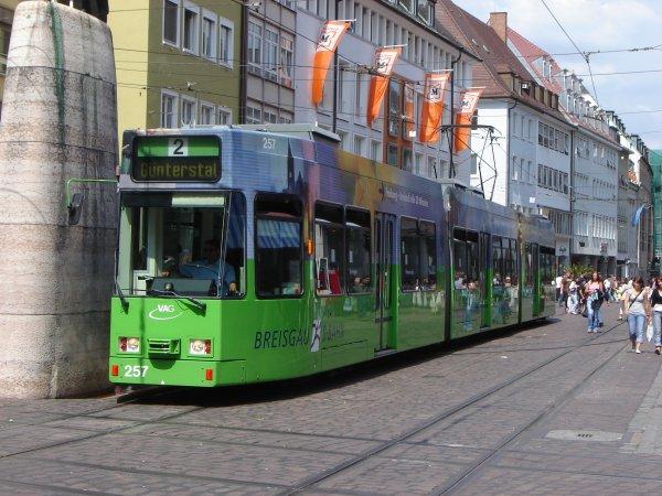 Am Samstag, 15.03. kostenlos Bus & Straßenbahn in Freiburg fahren.
