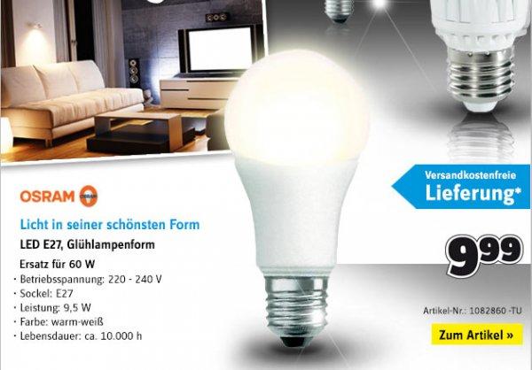 Conrad: LED Leuchtmittel ab 8,99 ohne VSK