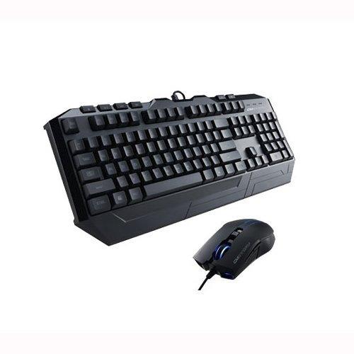 """Cooler Master™ - Desktop-Set """"Storm Devastator"""" (Laser-Maus,beleuchtete Tastatur,USB) für €26,90 [@ZackZack.de]"""